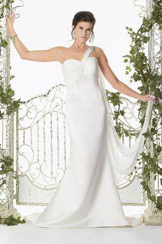Abito da Sposa Corpetto Pieghe con Perline Elegantissimi Senza Maniche Seducente