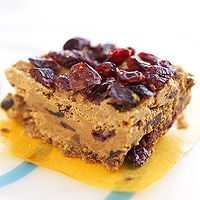 Make Your Own Breakfast Bars (Peanutbutter, cornflakes, dried cranberries)