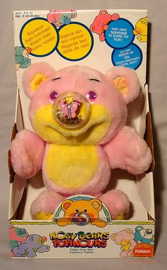 Nosey Bear. I had one of these. The nose was a balloon.