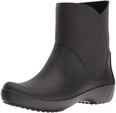 crocs Womens Rain Floe Boot Black 9 M US * This is an Amazon Affiliate link. See this great product.