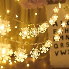 Fairy Lights Pom Pom Garland Bunting with Warm White LED Home Decoration Gift