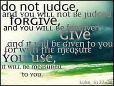 Luke 6:37-38 (This means give to PEOPLE)