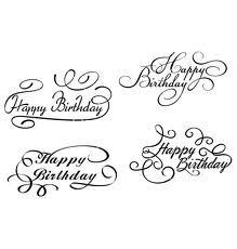 Kleurplaat Verjaardag Oma 68 68 Best Happy Birthday Lettering Images Bday Cards
