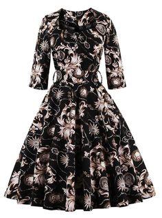 Inspiring Vintage Floral In Inspired Dresses 33 2019 Images Most xBWderCo