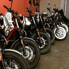 Lined up and ready to go! New Moto Guzzi's waiting to please their new owners. The Vancouver Motorcycle Show runs tomorrow through Sunday. If you find yourself there come and see us in Booth A2 (Moto Guzzi & Aprilia). Rebates on some models and Special Pricing on now. Message us or call 778-478-2732 for details! #springisonitsway #gottaride #motoguzzi #aprilia #vancouvermotorcycleshow #motovida #lifeontwowheels #handcrafted #motorcycle #lifestyle #kelowna #okanagan #lovethisplace…