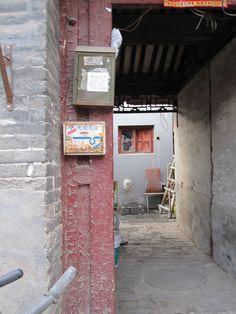 hutong doorways in Beijing via wordspix2009