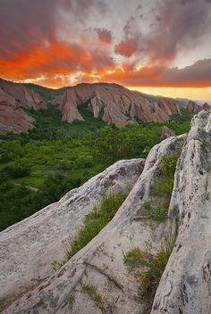 Lyons Overlook Roxborough State Park - Littleton, Colorado
