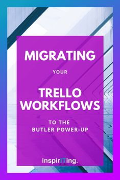 Did you built beautiful workflows in your Trello boards with the help of the ButlerBot before? Now is the time that these commands need to be migrated to the Butler Power-Up. In this article I am sharing some of my learnings in this transition process. #Trello #workflows #Butler #automation #commands #productivity #project #management #ButlerForTrello