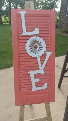 Coral Love Shutter
