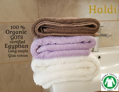 Welcome to Haldi Giza, Egyptian Cotton, Cruelty Free, Bathroom, Babyshower, Organic Cotton, Stuff To Buy, Luxury