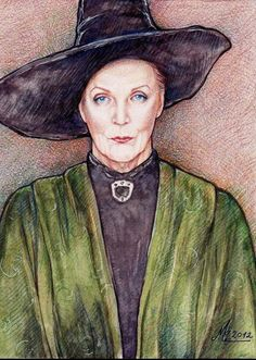 Minerva McGonagall by ChristinaMandy on DeviantArt