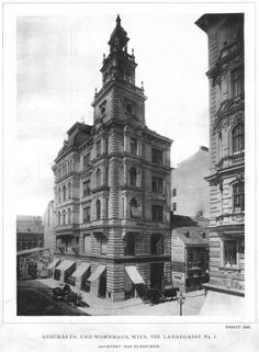 A residential and commercial building, Vienna