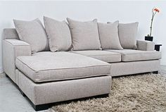 3 seater chaise lounge : 3 seater chaise lounge - Sectionals, Sofas & Couches