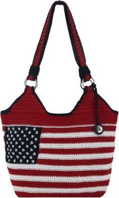 4505d52968 The Sak Ellis Tote Flag - via eBags.com! Red White Blue