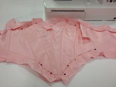 Ballet. Tutu bodice in the making. Made by Helen Shawsmith