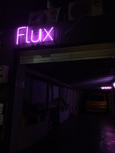 Flux in Seochon, Seoul, Korea.