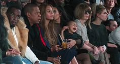 P.Diddy, Jay-Z, Beyonce, Kim Kardashian, North West &  Anna Wintour.