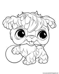 quirky artist loft littlest pet shop free printable coloring book - Lps Coloring Book