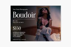 Boudoir Photography Booking Ad - Flyers