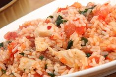 Tasty chicken rice chicken rice rice and tasty this easy risotto style recipe will please even fussy toddlers just add whatever vegetables they like best forumfinder Gallery