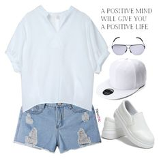 """""""LoveNewChic #28"""" by oliverab ❤ liked on Polyvore featuring vintage, casualstyle, newchic and lovenewchic"""