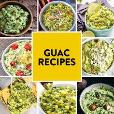 Guac Recipes
