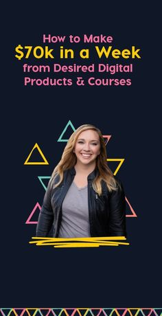 Want to create a digital product or course that sells? Let me show you how I brought in 70k in a week! http://lucrativedigitals.pages.ontraport.net/