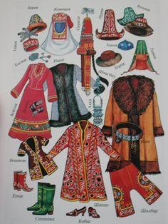National Kazakh clothes                                                                                                                                                                                 More