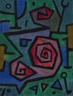 Roses héroïques, par Paul Klee                                                                                                                                                                                 More