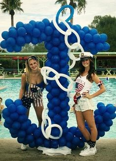 1000 ideas about anchor party on pinterest nautical for Anchor balloon decoration