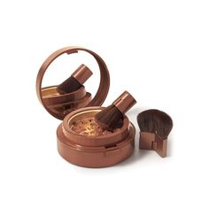 Now that I don't fake-n-bake, I RELY on brozner--Pure Finish Mineral Bronzing Powder: Get a fresh-ground natural glow with Pure Finish Mineral Bronzing Powder, filled with minerals, mica, sea water complex, aloe and vitamins A, C, and E. Nothing is more seductive than bare, sun-kissed skin.