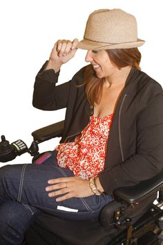 Woman Paralyzed In Car Accident Creates Jeans For People In Wheelchairs