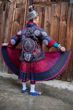 Guizhou : Weng Xiang, Gejia Miao portraits #14