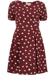 cfa3f249403 Billie and Blossom heart tea dress - Casual Dresses - Dresses Petite  Outfits