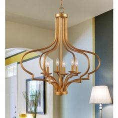 Shop for Motif 6 Light Chandelier. Get free shipping at Overstock.com - Your Online Home Decor Outlet Store! Get 5% in rewards with Club O!