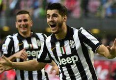 Morata (phải) gia nhập Juventus từ Real hè năm ngoái sau khi cùng lên ngôi Le Decima. Ảnh: Reuters