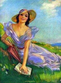 So pretty! By Jules Erbit 1930's
