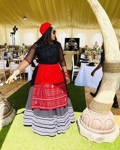 Traditional Xhosa Dresses Wedding,The acceptable old traditional Xhosa trend never gets boring, appearance lovers keeps accepting artistic African Wear Dresses, African Wedding Dress, African Attire, Wedding Dress Styles, African Clothes, Traditional Wedding Attire, Traditional Outfits, Xhosa Attire, Traditional African Clothing