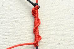 Half Hitch Spiral - a Popular Decorative Knot for Micro-Macramé Jewelry – Pandahall