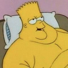 'Bart Simpson (thicc edition)' by alaiag : Simpsons Funny, Simpsons Art, Cartoon Icons, Cartoon Memes, Cartoon Profile Pictures, Funny Pictures, Cute Memes, Funny Memes, Simpsons Drawings