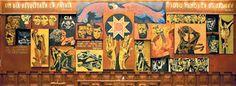 Resultado de imagen para art work oswaldo guayasamin calero