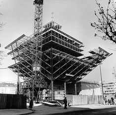 Bratislava, Socialism, Ulice, Environment, Louvre, Construction, Architecture, Street, City