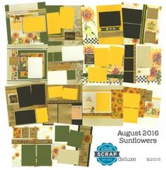 The Efficient Crafter: Sunflowers Blog Hop