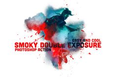 Smoky Double Exposure by Ruslan Zelensky on Creative Market