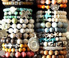 Handmade Beaded Bracelets / Gemstone Bracelets by BeadRustic