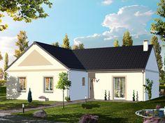 Modèle HEGOA  Pavillon plain-pied avec garage comprenant cuisine ouverte sur le séjour, salle de bains, WC, 3 chambres.   Surface habitable : 83,53m².