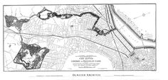 This is the 1894 plan for the Emerald Necklace Park System in Boston, Massachusetts.