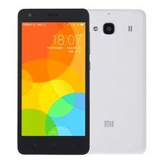 [$95.00] Xiaomi Redmi2 4.7 inch IPS Screen MIUI 6(Android OS v4.4) Smart Phone, MSM8916 Quad Core 1.2GHz, RAM: 1GB ROM: 8GB, Dual SIM, FDD-LTE & WCDMA & GSM Network(White)