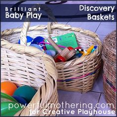 Creative Playhouse: Brilliant Baby Play - Discovery Baskets