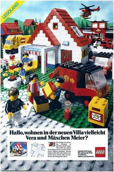 Lego, 1983 > loved playing with Lego and duplo growing up! We had the 'girly' set called paradiso.